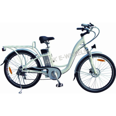 250W36V Lady Lithium Battery Electric Bike with LED Headlight (TDE-038XB)