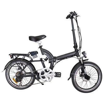 Aluminium Alloy Light Lithium Battery Electric Bike with Fender (TDE-039S)