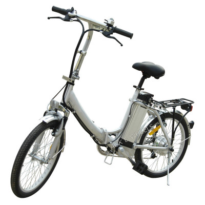 Aluminium Alloy Folding Lady Lithium Battery Electric Bike with Shimano 7 Speed (TDN-003)