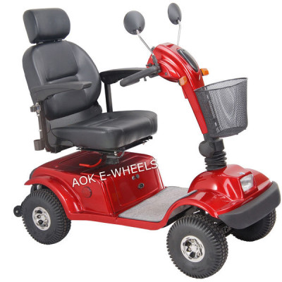 Four Wheels Disabled Old People Electric Mobility Scooter (MS-002)