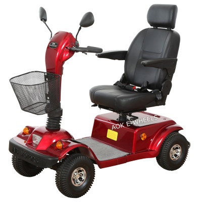 2016 Newest 600W/800W 4 Wheels Mobility Scooter with Disk Brake (MS-003)