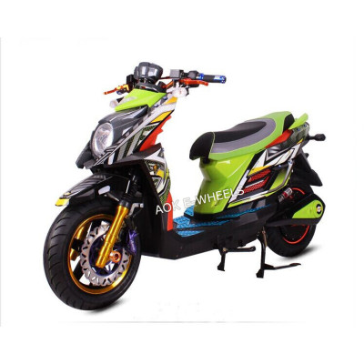 Colorful 2000W Surper Power Electric Motorcycle with Disk Brake (EM-002)