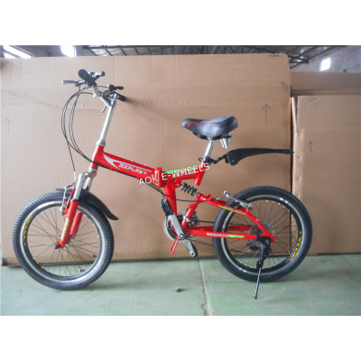 20'' Wheel Alloy Folding Bike with Steel Folding Frame (AOKFB008)