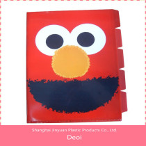Deoi OEM factory customized PP/PVC/PET durable pp fashion five insert file packet