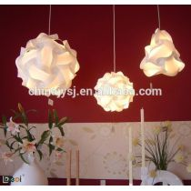 plastic lamp shade used in decorating house