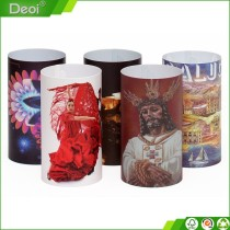 top hot selling products OEM factory made recycled cheap price pp plastic lamp shade for Christmas