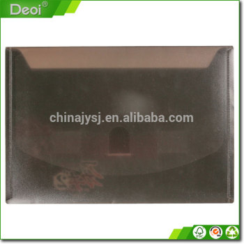 PP Plastic Document Package file package with snap /metal fastener which made in Shanghai