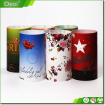 Dining-table Decorated Candle Shadow with full printing