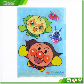 colorful cartoon environmentally friendly materials and printed with the school office file storage folder