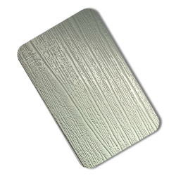 Embossed Stainless Steel