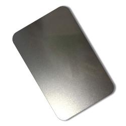 Sandblasted Stainless Steel