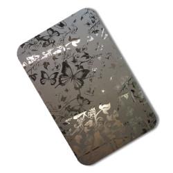 Etched Stainless Steel