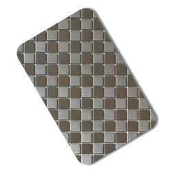 Mosaic Stainless Steel