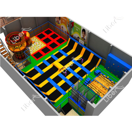 CE Small Kids Trampoline with Basketball Multifunction Trampoline for Sale