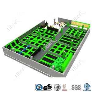 Small Exercise Trampoline Promotion Rectangular Trampoline 2016 New Trampoline Parts