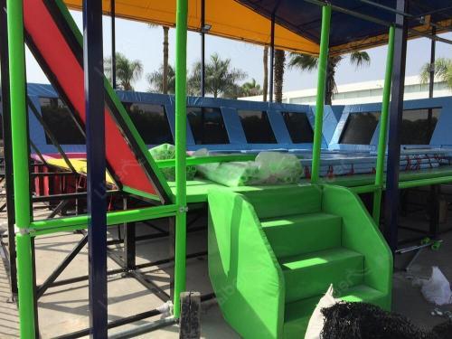 Professional Outdoor Gymnastic Trampoline Best Outdoor Trampoline