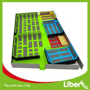 Luxury Jumping Sports Colorful Trampoline Heavy Duty Trampoline