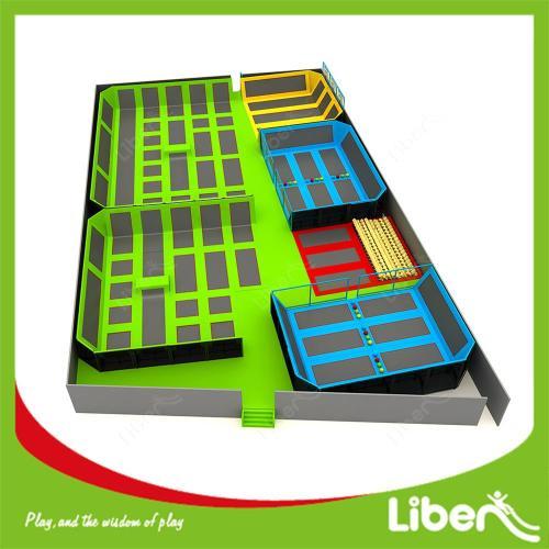 Luxury Jumping Sports Colorful Trampoline Heavy Duty Trampoline