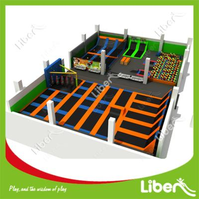 High Quality Rectangle Big Trampolines Promotion Discount Trampolines
