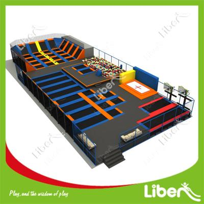 Professional Safety Net Trampoline Multifunction Trampoline with Safety Enclosure