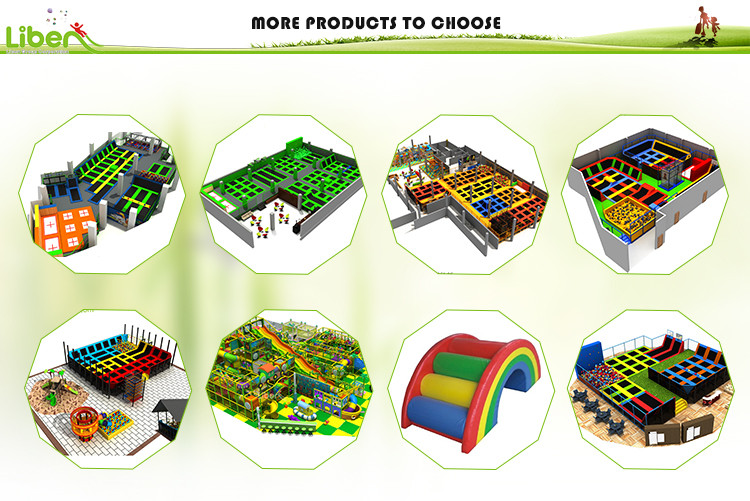 Designs of Safe Trampoline park