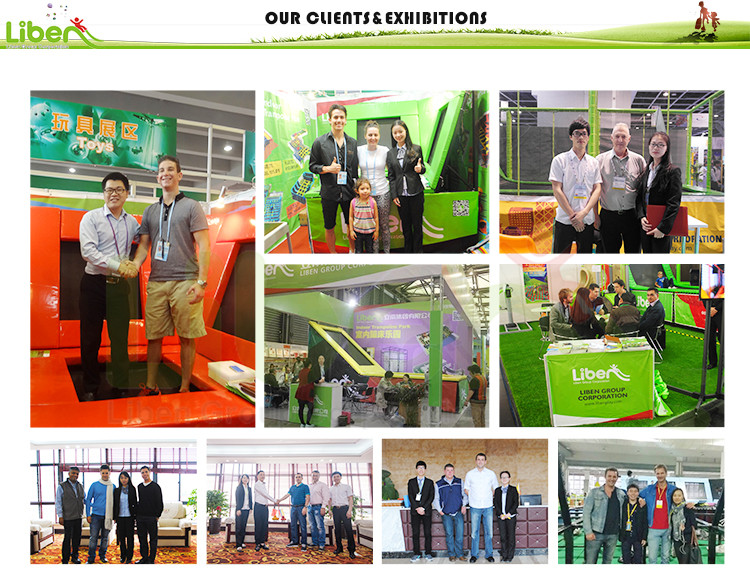 exhibitions of Trampoline Park Design