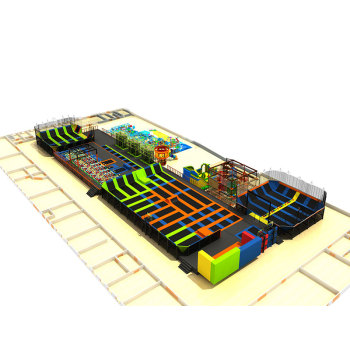 Commerical Easy Installed Indoor Trampoline Park with Professonal CAD Drawings
