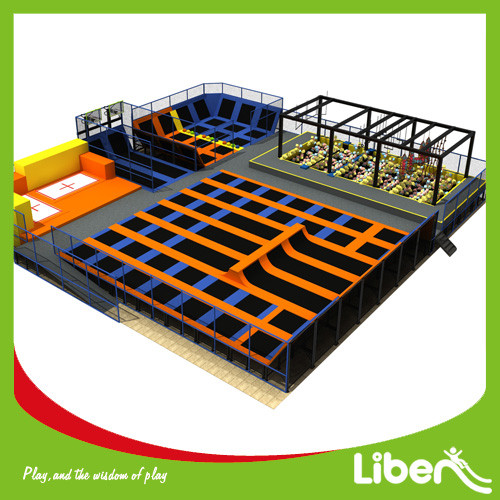 Fanny Jumping Trampoline Park with Ninja Course