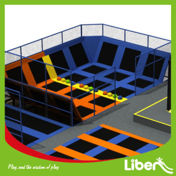 Funny Dodge Ball Arena Free Jumping Trampoline Center