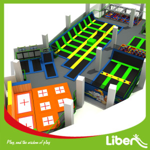 Commercial Custom Size Indoor Large Trampoline Park