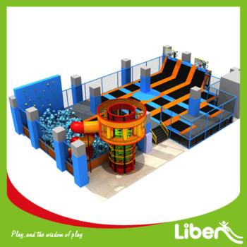 China Indoor Kids Trampoline Park with Playground Equipment