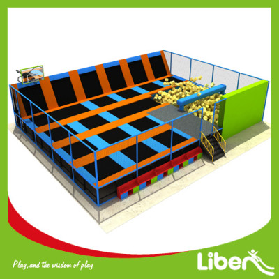 Liben ASTM Standard With Foam Pit Indoor Children Trampoline Park