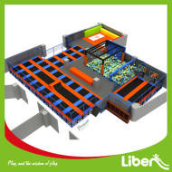 Liben ASTM Standard Commercial Large Indoor Adults Trampoline Park