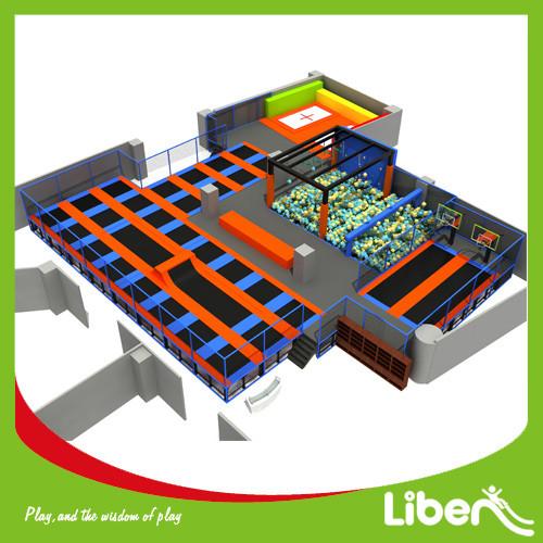 Liben ASTM Standard Commercial Large Indoor Adults Trampoline Park