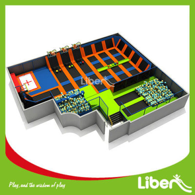 Commercial Trampoline Park For Sale