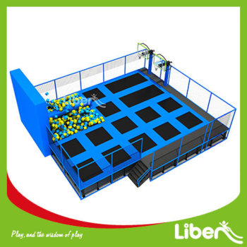 ASTM Standard Indoor Big Trampoline Park