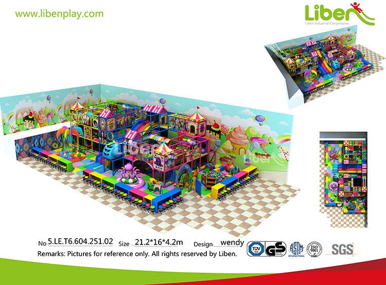candy indoor playground