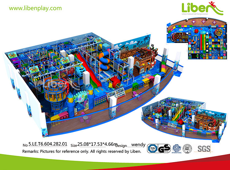 Ocean Themed Indoor Playground