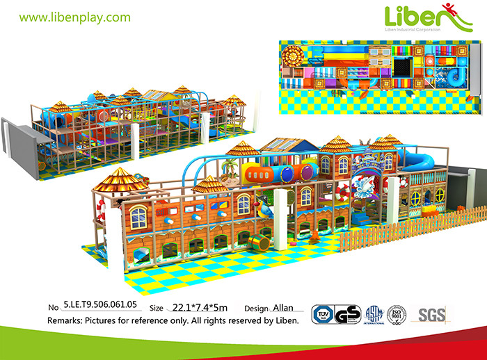 Castle Themed Indoor Playground