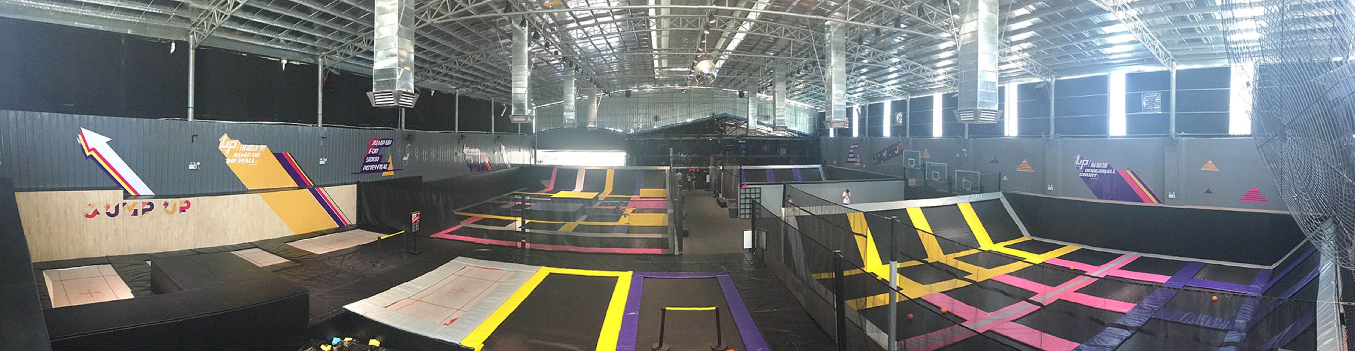 Trampoline Park Newly Opened in Guangzhou