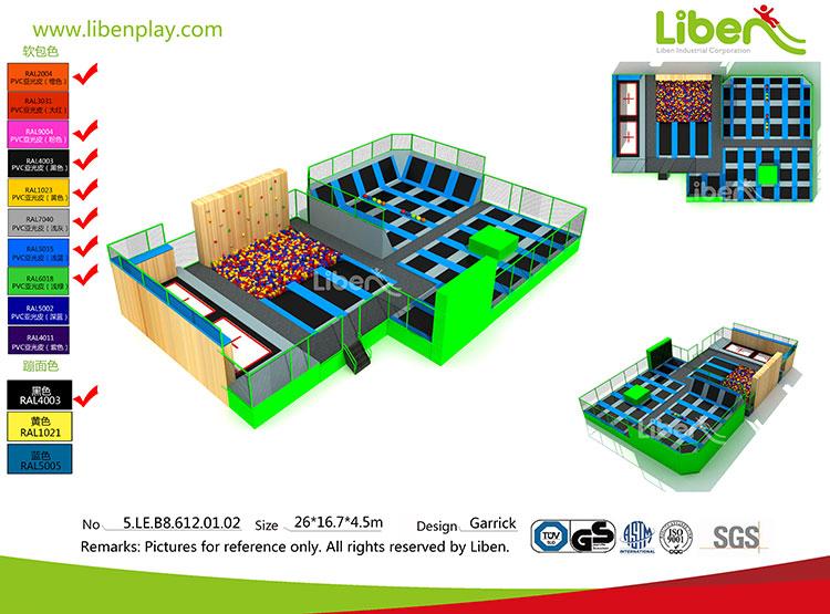 Indoor trampoline park business plan