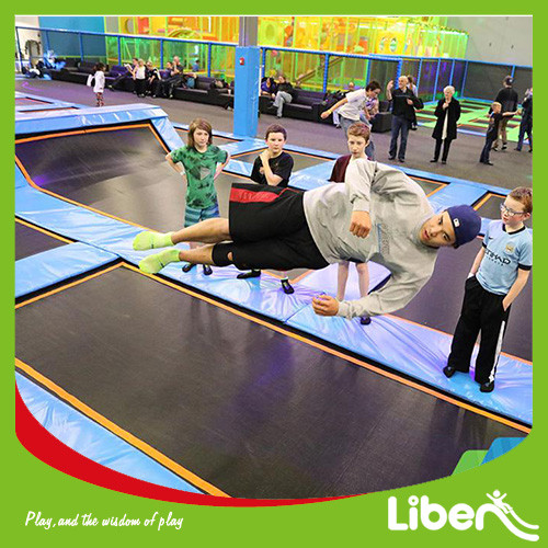 China Top & professional indoor trampoline park Provider