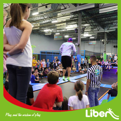 China Top & professional indoor trampoline park supplier