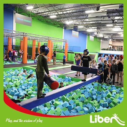 China Large Indoor Trampoline Center Manufacturer