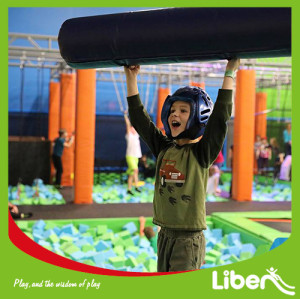 Customized Design With Jumping Box Indoor Trampoline Park Supplier