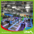 Customized Design With Jumping Box Indoor Trampoline Arena factory