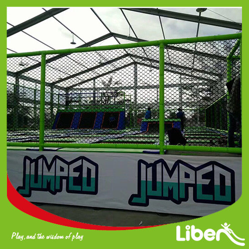 TUV APPROVED LARGE OUTDOOR TRAMPOLIN PARK BUILDER INDONESIA