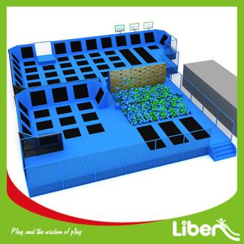 Professional Factory Price Trampoline Park Indoor Kids
