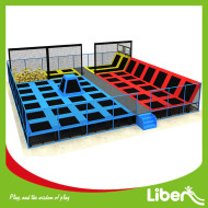 European Standard Open Indoor Kids Trampoline Park Outdoor