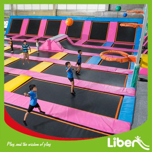 European Standard Open Indoor Kids Trampoline Park Outdoor